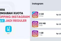 Internet Gratis by U Topping Instagram