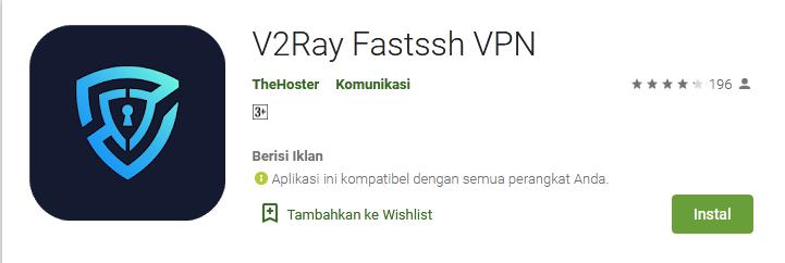 V2Ray vpn fastssh