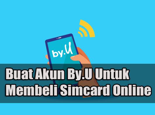 Beli kartu by.u secara online