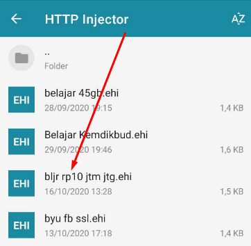 Cara Import Config HTTP Injector