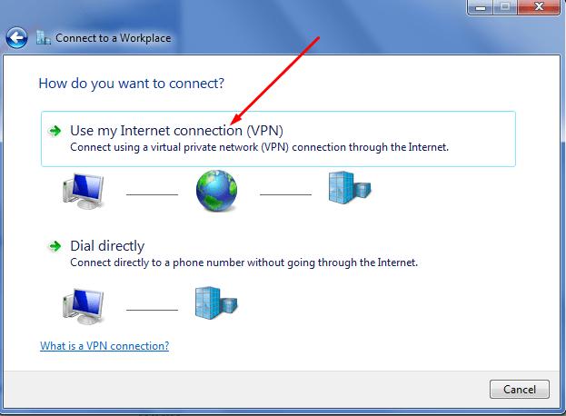 setting vpn