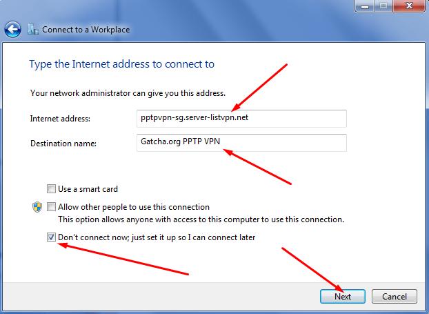 Cara Menggunakan VPN PPTP di Windows