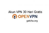 Cara Membuat Akun OpenVPN 1 Bulan Premium Gratis