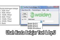 Inject PC Kuota Belajar Rp10 Tsel dan by.U