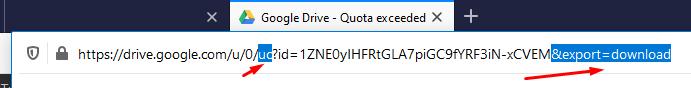 cara mengatasi download di google drive limit