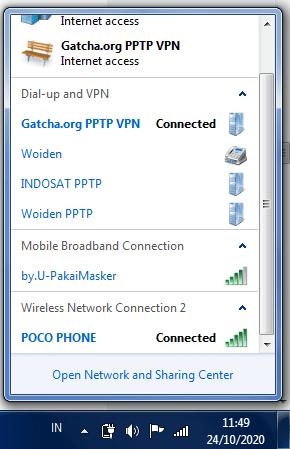 VPN PPTP Konek