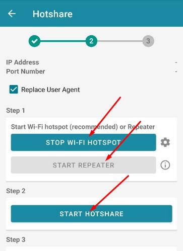 Cara Hotspot Tethering HTTP Injector ke PC