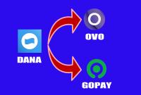 Cara Mudah Melakukan Transfer Saldo DANA ke OVO dan Gopay