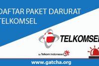 Cara Beli Paket Darurat Telkomsel (Bayar Nanti)