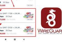 Cara Ubah Kuota Combo Sakti Unlimited Apps Telkomsel Jadi Reguler Menggunakan Wireguard
