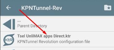 Config KPN Tsel UnliMAX dan Combo Sakti Apps (Direct Payload)