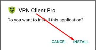 Install Aplikasi SSTP VPN Game