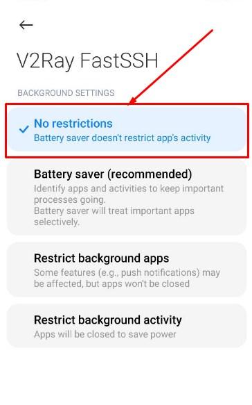 Cara Setting Aplikasi V2Ray Jika Force Close atau Diskonek