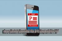 Cara Mudah Merubah File JPG Menjadi File PDF
