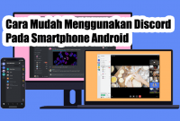Cara Mudah Menggunakan Discord Pada Smartphone Android