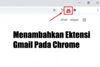 cara mudah menambahkan extension gmail di chrome dengan mudah