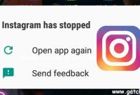 Kenapa Aplikasi Instagram Keluar Sendiri?