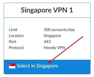 Singapore VPN 1