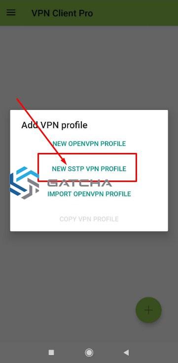 Setting Aplikasi SSTP VPN Client
