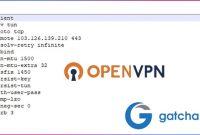 Cara Membuat Config OpenVPN untuk Trik Internet Gratis