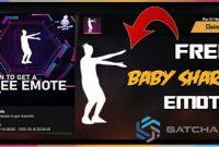 Kode Redeem FF 2021 Emote Baby Shark