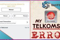 My Telkomsel Something Went Wrong tidak Bisa Login