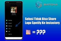 Solusi Saat Spotify Tidak Bisa Share Ke Instagram