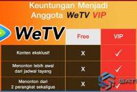 Cara Daftar VIP di WeTV, Android dan iOS