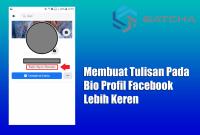 Membuat Tulisan Pada Bio Profil Facebook Lebih Keren
