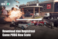 Download dan Registrasi Game PUBG New State