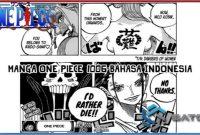 Spoiler One Piece 1006 dan Jadwal Rilis